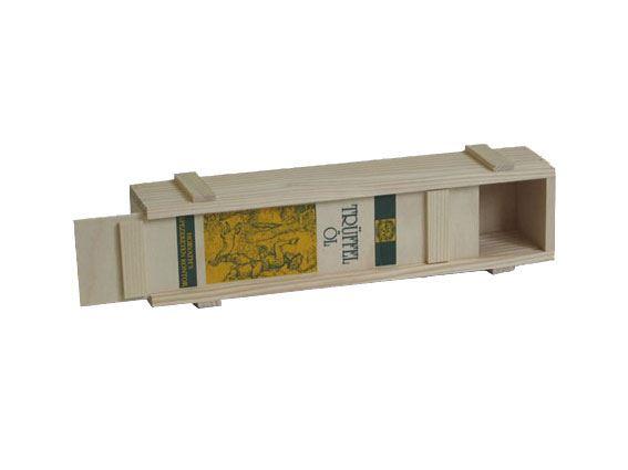 Holzkiste mit 2-färbigem Siebdruck