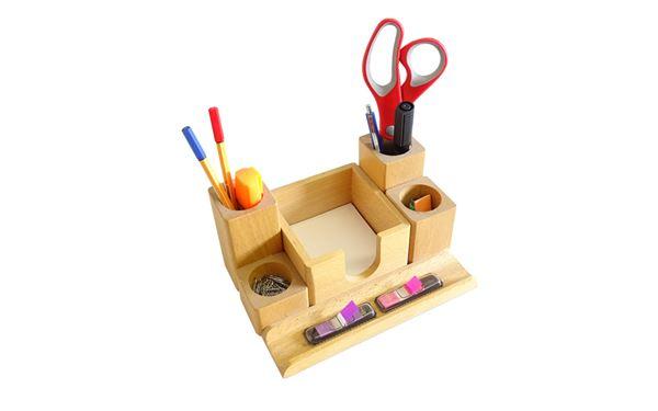 Schreibtischköcher für Ordnung auf Ihrem Schreibtisch
